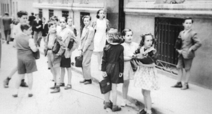 La Comunidad muestra en una exposición cómo era la vuelta al cole de los madrileños el siglo pasado