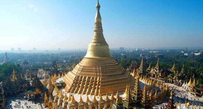 Myanmar: La habitación papal en la Pagoda de Shwedagon