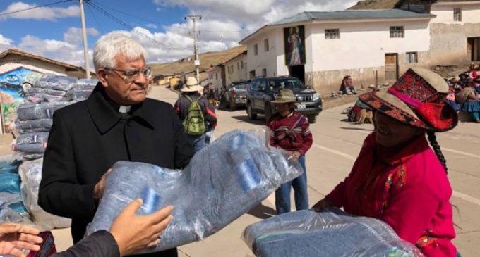 Perú: Campaña de la Conferencia Episcopal contra el frío en Los Andes