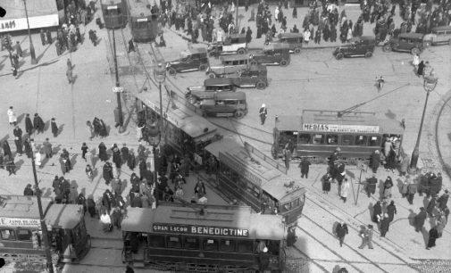 Exposición «Yo me bajo en la próxima», 150 años del primer tranvía en Madrid