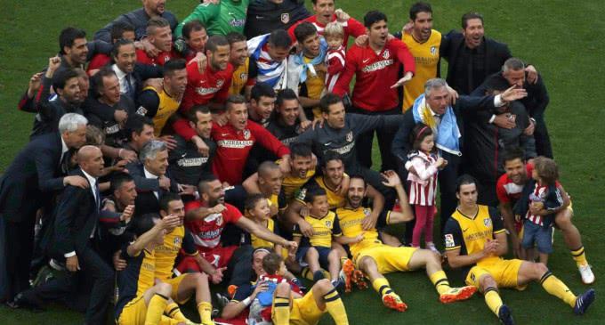 El Atlético de Madrid campeón de la Liga 2013-2014
