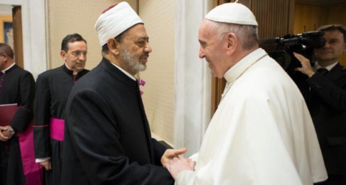Islam: Encuentro del Papa con el gran imán de Al-Azhar