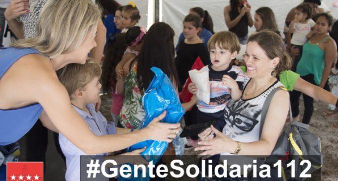 El 112 de la Comunidad pone en marcha la campaña #GenteSolidaria112 en sus redes sociales
