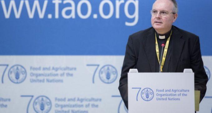 Monseñor Chica: «crece el hambre debido a los conflictos»