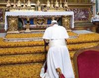 La escuela de oración de nuestro Papa Francisco