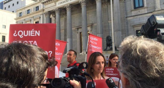 Voluntarios piden a los nuevos diputados que garanticen el derecho a vivir de todos