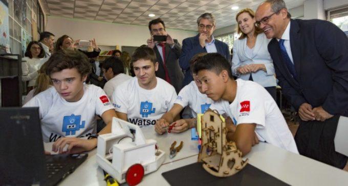 22 institutos de la región entran en la era de la Inteligencia Artificial de la mano de un innovador programa de IBM