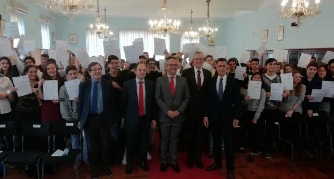 78 alumnos de la Comunidad de Madrid obtienen la única certificación oficial del idioma alemán