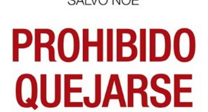 Libros: San Pablo publica Prohibido quejarse del psicólogo italiano Salvo Noè