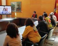Díaz Ayuso agradece el esfuerzo de los profesionales del Hospital de la Comunidad de Madrid en IFEMA