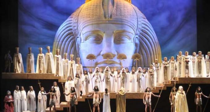 La ópera Aída empieza su gira europea en la Casa de Campo los días 19 y 20 de diciembre