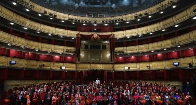 En un acto en el Teatro Real, la Comunidad de Madrid da la bienvenida al año nuevo chino