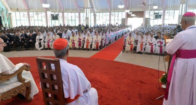 """""""Todo nuestro ministerio está dirigido a proclamar la alegría del Evangelio"""""""