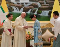 Myanmar: La charla del Papa con Aung San Suu Kyi