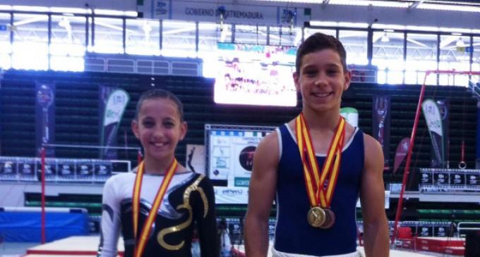 Triunfo de los gimnastas majariegos en el Campeonato de España