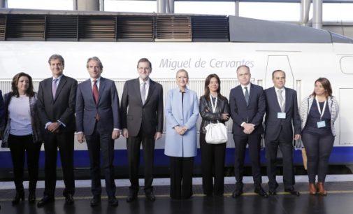 Cifuentes, en la conmemoración del 25 aniversario del AVE Madrid-Sevilla