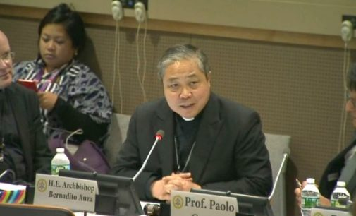 """Mons. Auza: """"Proteger a los niños hoy previene los conflictos del mañana"""""""