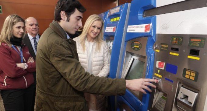 El Abono Joven a 20 euros alcanza el millón de usuarios y permite ahorrar 100 millones de euros a los madrileños