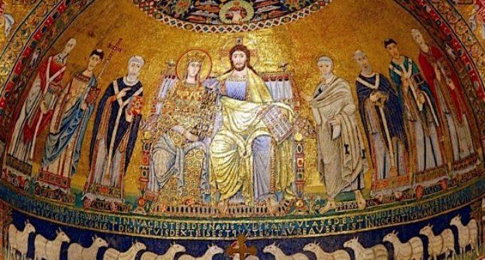 El cardenal Osoro toma posesión de la basílica de Santa María en Trastevere