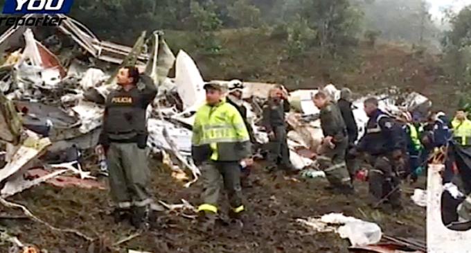 Pésame del Santo Padre por el accidente aéreo en Colombia