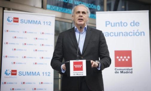 Activada en Madrid la fase piloto del nuevo sistema de autocitación para vacunarse contra el COVID-19