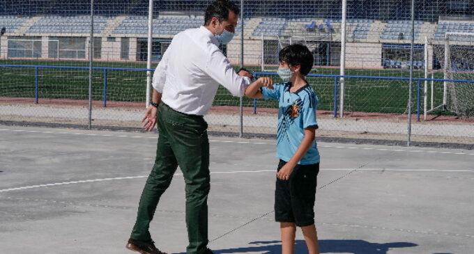 """Aguado: """"Hay que practicar deporte y hacerlo de forma segura: usando mascarilla y garantizando la distancia física"""""""