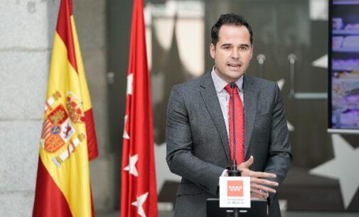 """Aguado: """"Presentamos Madrid ReFuerza para favorecer el empleo y el crecimiento económico en la región"""""""
