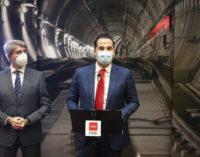 """Aguado anuncia que la línea 11 de Metro se convertirá """"en la gran Línea Diagonal de Madrid"""""""