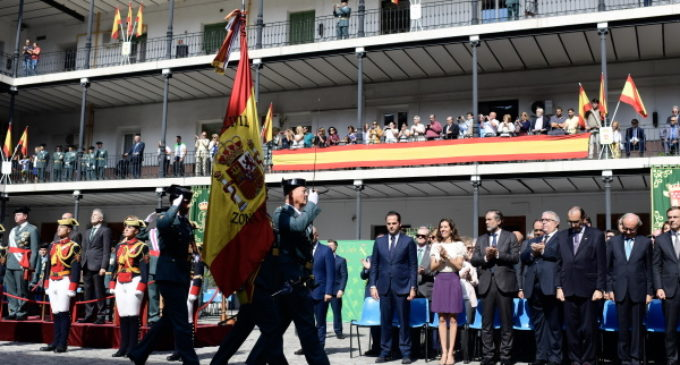 Aguado asiste a la festividad de la Virgen del Pilar, patrona de la Guardia Civil