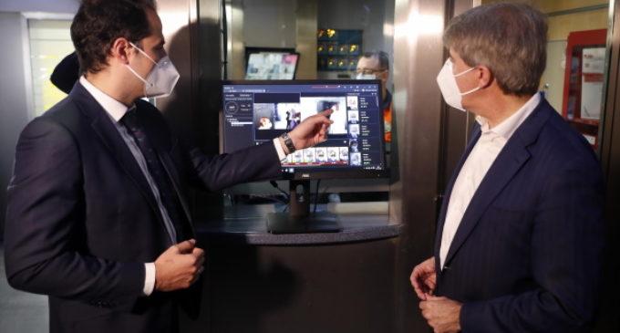 Aguado avanza la instalación de una cámara en el Puesto de Mando de Metro para medir la temperatura a empleados del suburbano