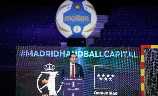 Aguado celebra que la Copa del Rey de Balonmano sea la primera competición deportiva abierta al público en 2021
