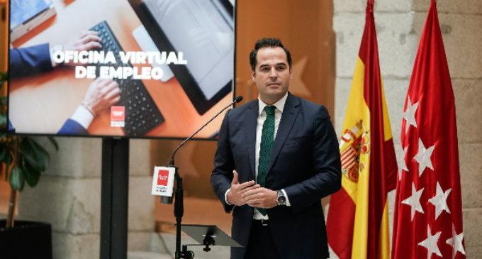 """Aguado presenta la Oficina Virtual de Empleo, un ejemplo de """"política útil"""" para ofrecer soluciones a los ciudadanos"""
