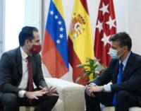 """Aguado se reúne con Leopoldo López y elogia su """"defensa de los derechos humanos y de la libertad"""""""