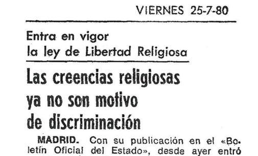 Al servicio de la concordia religiosa y civil