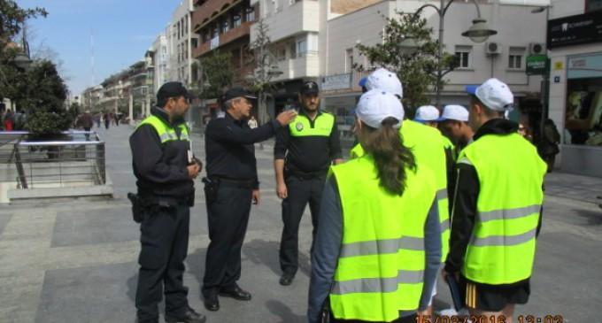 Alumnos de 4º de la ESO hacen prácticas en dependencias municipales
