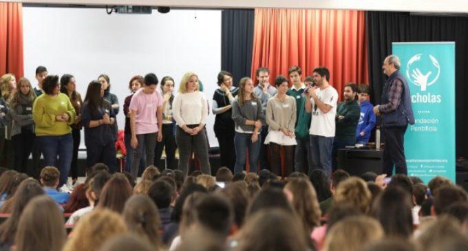 Los alumnos de Madrid reclaman el pacto educativo y más recursos para la educación pública