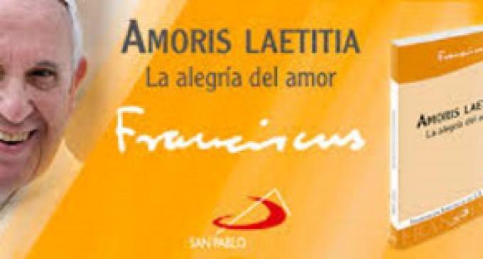 """""""Amoris Laetitia"""", la nueva Exhortación apostólica del Papa sobre el amor en la familia"""
