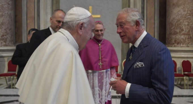 Anglicanos: El Papa saluda a la delegación inglesa en la canonización de Newman