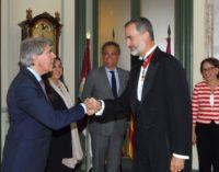 En el Palacio de Justicia, sede del Tribunal Supremo, Garrido asiste a la solemne apertura del Año Judicial