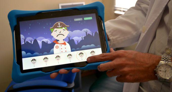 El Hospital Infantil Niño Jesús diseña una App informática que mide el dolor de los niños