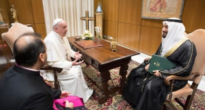 Arabia Saudí: El Papa recibe al ministro consejero Abdullah bin Fahad Al Eidan