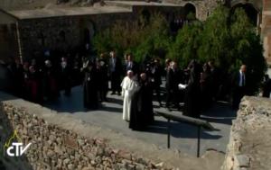 Armenia. Día 3. El Papa libera palomas