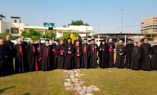La asamblea de patriarcas católicos en Irak impulsa la permanencia de los cristianos