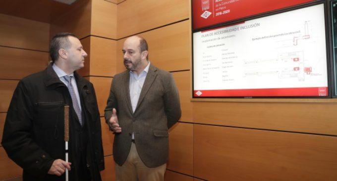La Comunidad invertirá 57 millones en dos años para instalar más de 30 ascensores en 8 estaciones de Metro
