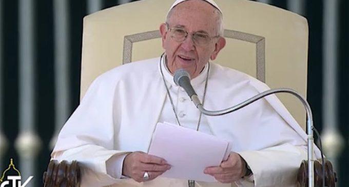 Francisco en la audiencia: ¿Cuál es el secreto para mantenernos alegres en la esperanza?