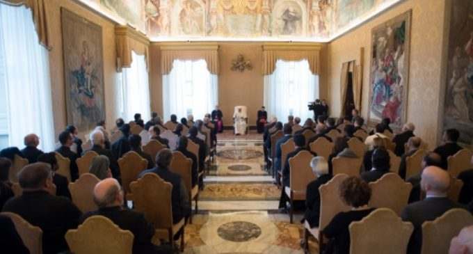 """El Papa a los Escolapios: """"Educar, anunciar y transformar"""" a los jóvenes"""