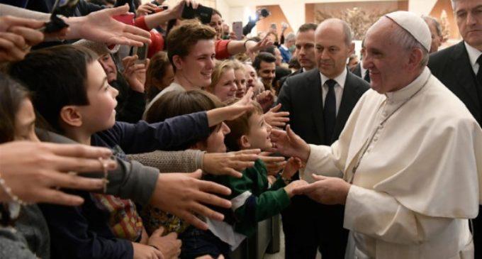 El Papa en la audiencia: Navidad será una verdadera fiesta, solo si recibimos a Jesús