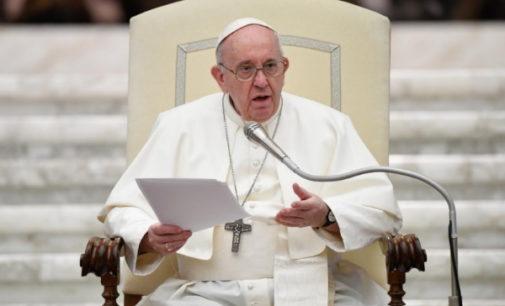 Discurso del Santo Padre al Presidente del Gobierno de España en el curso de la Audiencia del 24 de octubre de 2020