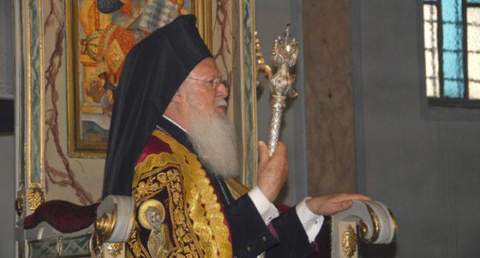 Bartolomé I da las gracias al Papa al abrir el Concilio Panortodoxo