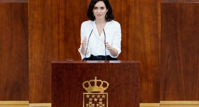 """Díaz Ayuso: """"Voy a hacer política al servicio de nuestra mejor Comunidad de Madrid, imprescindible en España"""""""